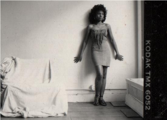 Photo shoot circa 1987