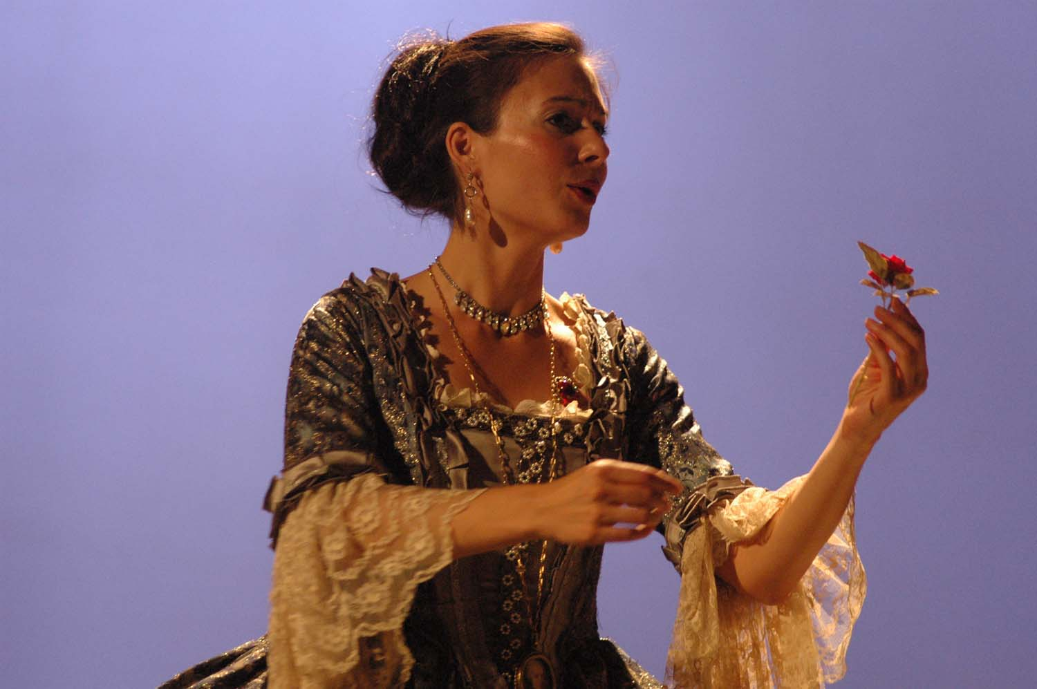 That's me singing the role of the Countess in Mozart's  Le Nozze di Figaro.