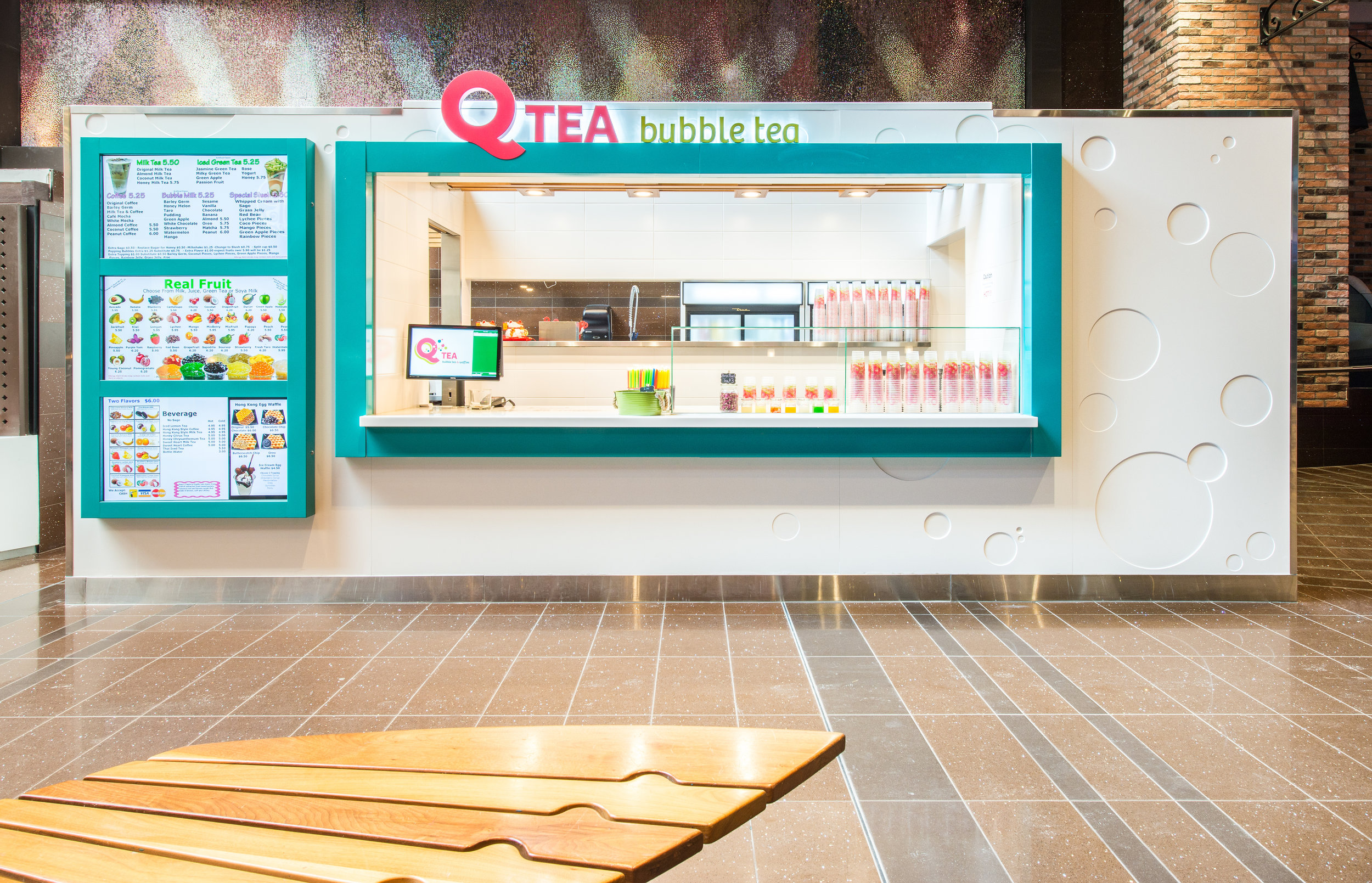 QTea Bubble Tea - WEM