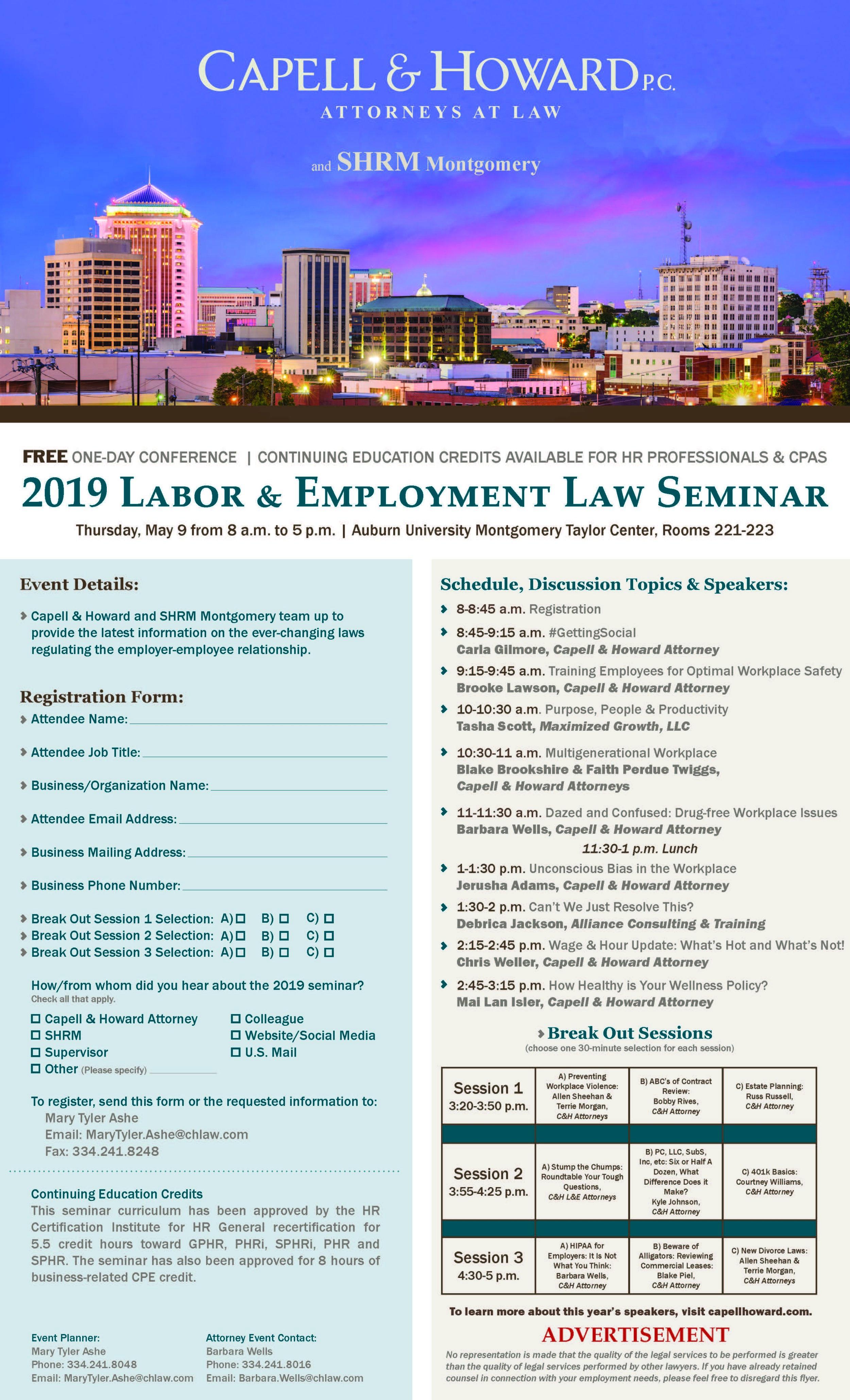 2019 Labor and Employment Law Seminar Flyer FINAL.jpg