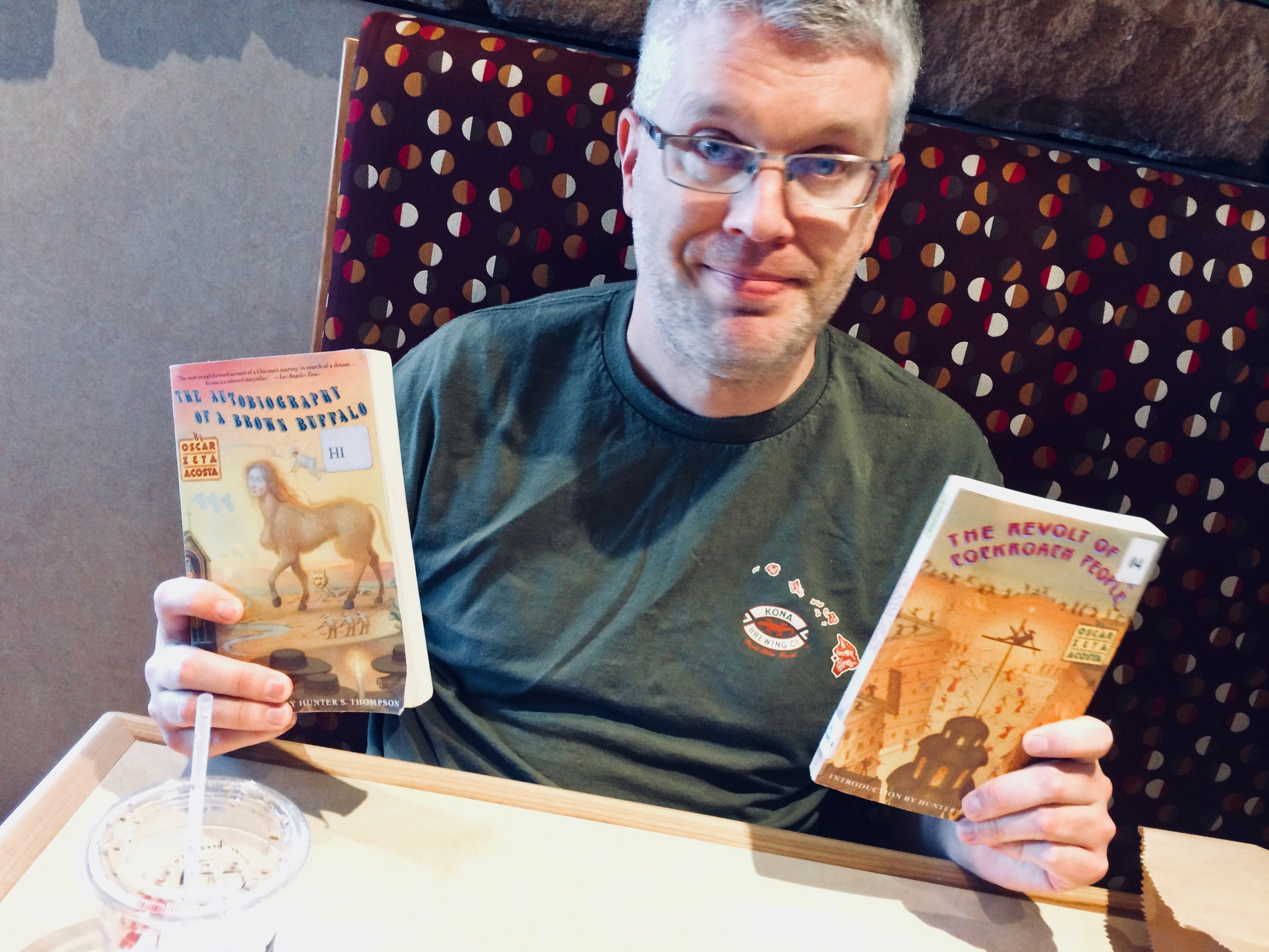 ASU English professor Lee Bebout is a self-proclaimed 'Saltine' who teaches Chicano history and literature. He wants students and others to learn the unknown history of American Latino literature - which he insists should always include Oscar Zeta Acosta.
