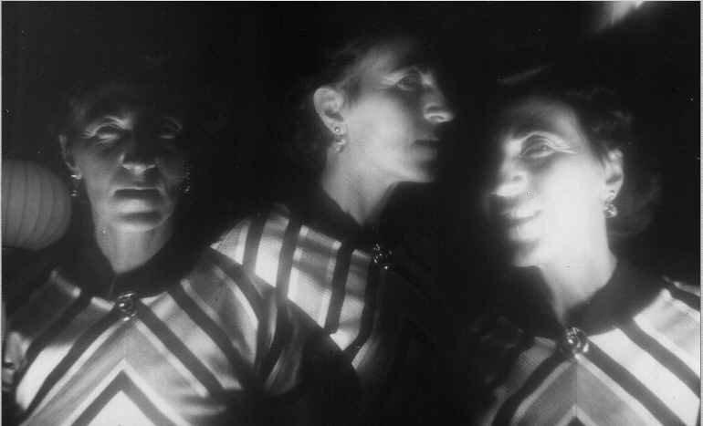 Helen Adam, Self-Portrait , c. late 1950s, photographic print.
