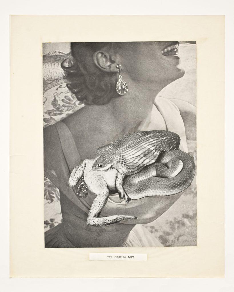 Helen & Pat Adam, The Flesh of Love , San Francisco collage,1950s–1964. Credit: James A. Ulrich.