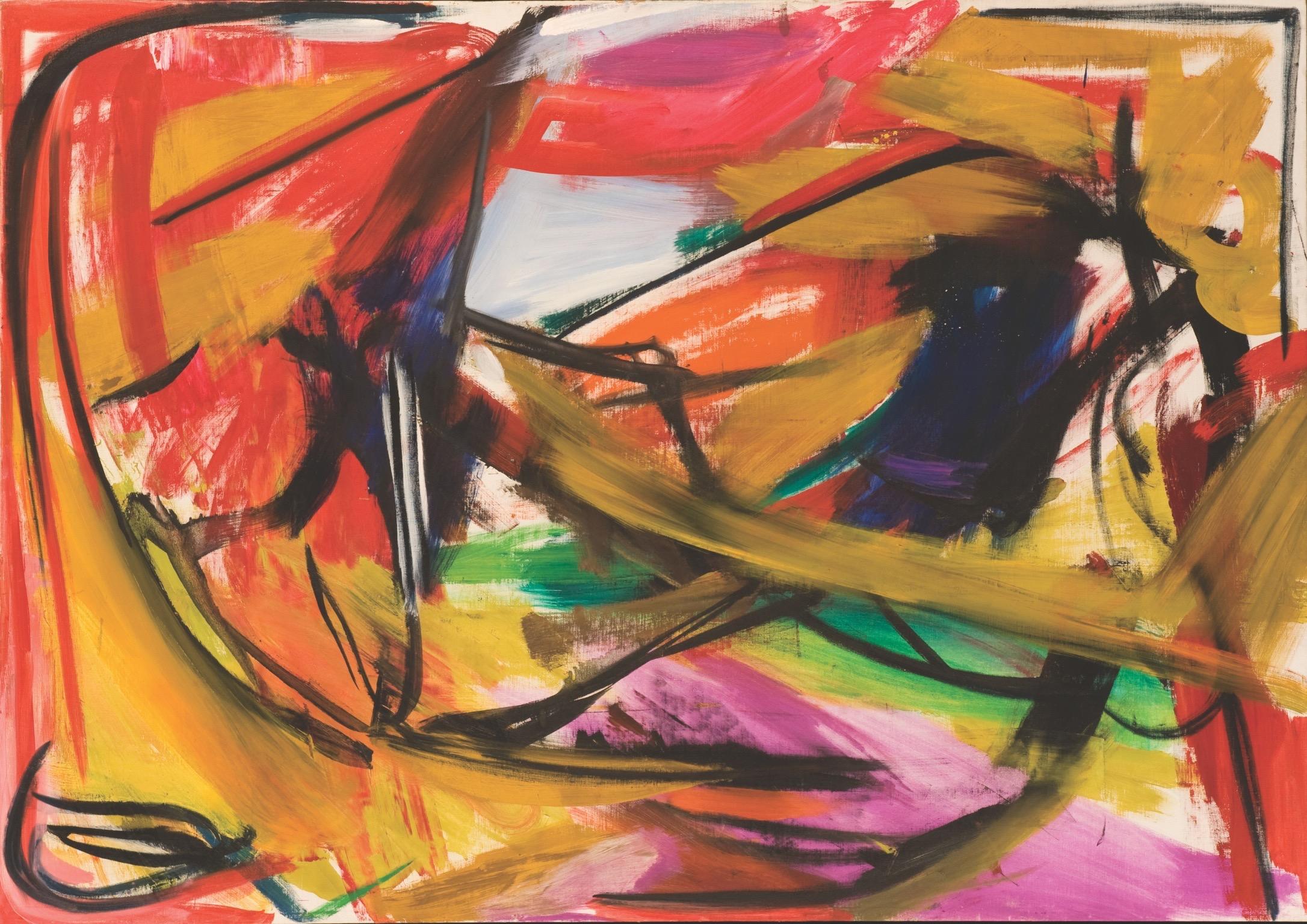 Farol , 1958, oil on canvas, 54 x 77 inches, Mint Museum-Charlotte, North Carolina