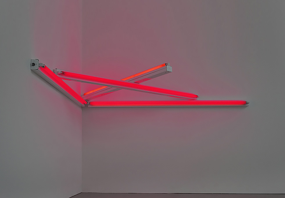 Dan Flavin  |   Monument 4 Those...  |  Private Collection