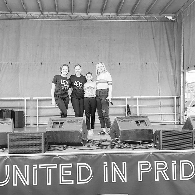 What a fun day performing for @normanpride ! 🌈💖 • • • • • • • • • • • • • • • • • • • • • • • • • • • • • • • • • • • •  #405dancers #405dancecompany #405danceco #405dance #idanceat405dance #normanok #normanpride #movewithus #growwithus #dancewithus