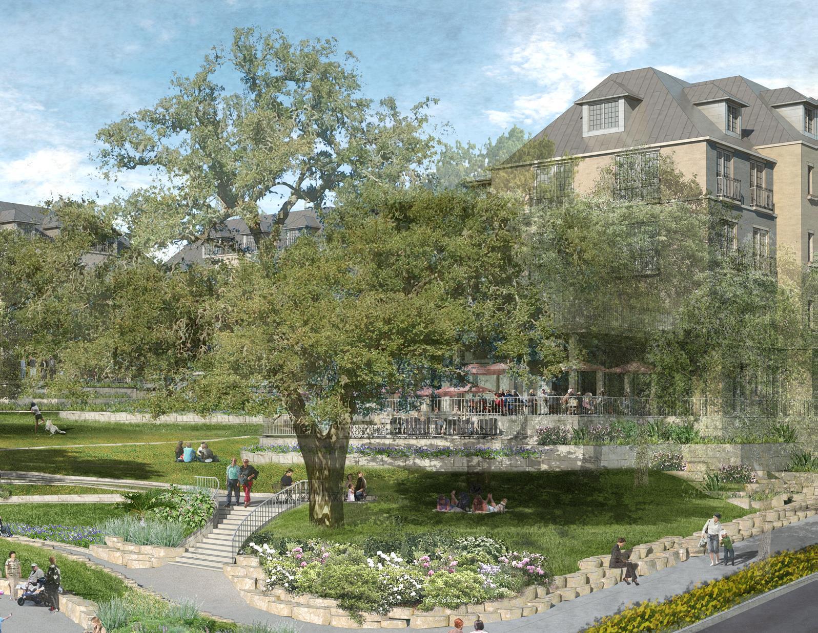 Poet's Corner - Lindsey Hill's public park space
