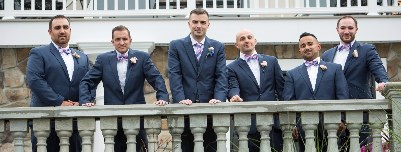 One of my best friends Bobby (middle-left) getting married, those are his best men up there. Great time with great people.