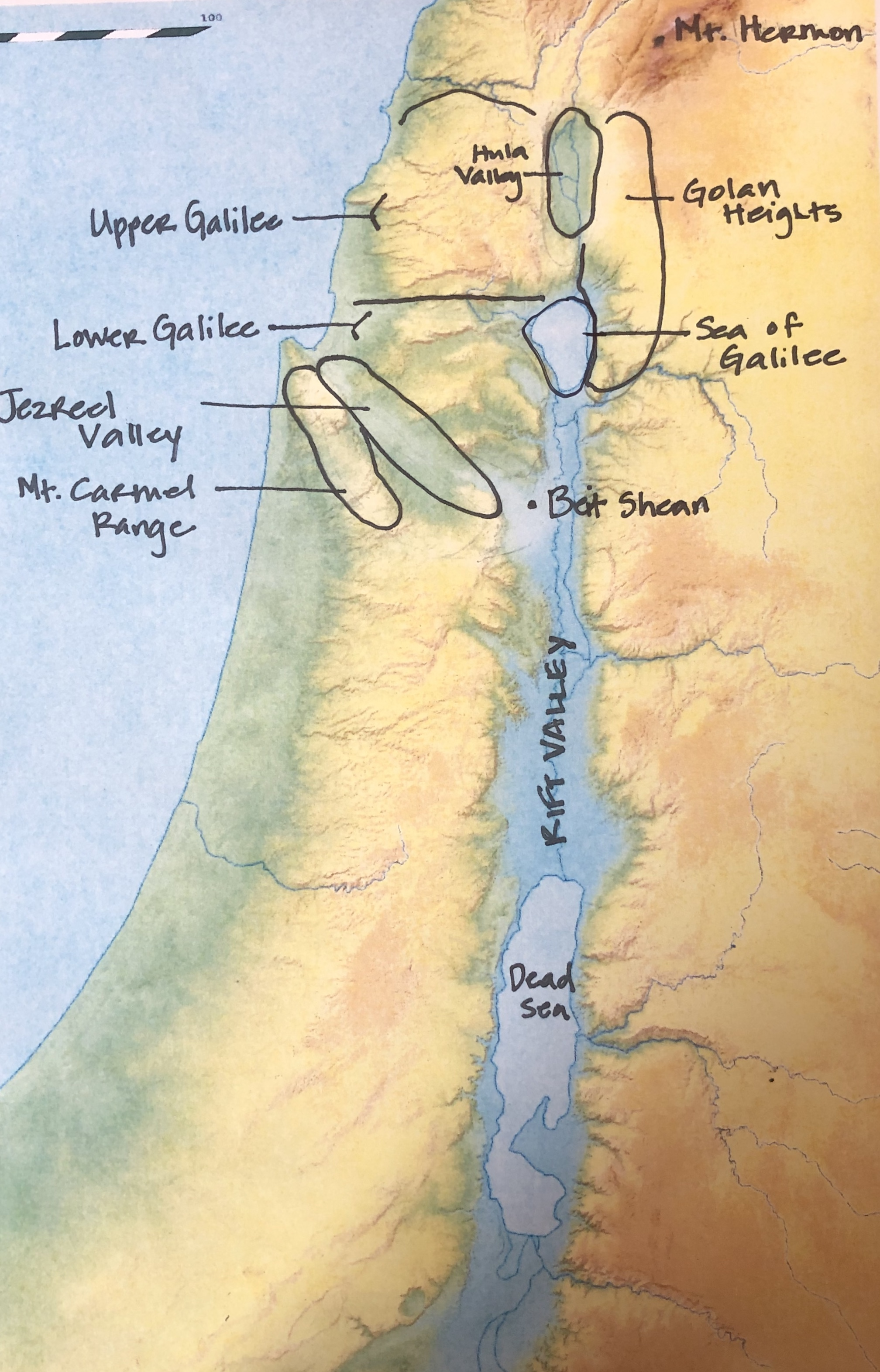 Upper Galilee Regions