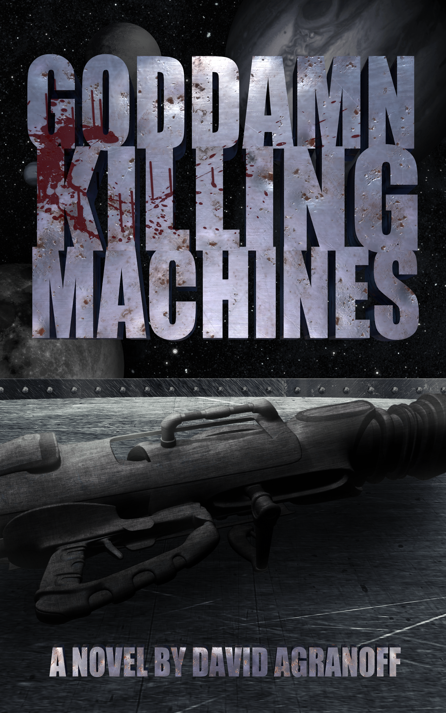 Mercenaries, War Criminals, Interstellar Travelers ... Killing Machines - Nick Jarvis thought he had escaped the life of violence. He and his squad of mercenaries; the notorious Goddamn Killing Machines, were wanted for war crimes on multiple planets.After building a new life in the ruins of Earth, he had happily settled into being a father and husband.But the U.N. needs the Killing Machines for one last dangerous mission.