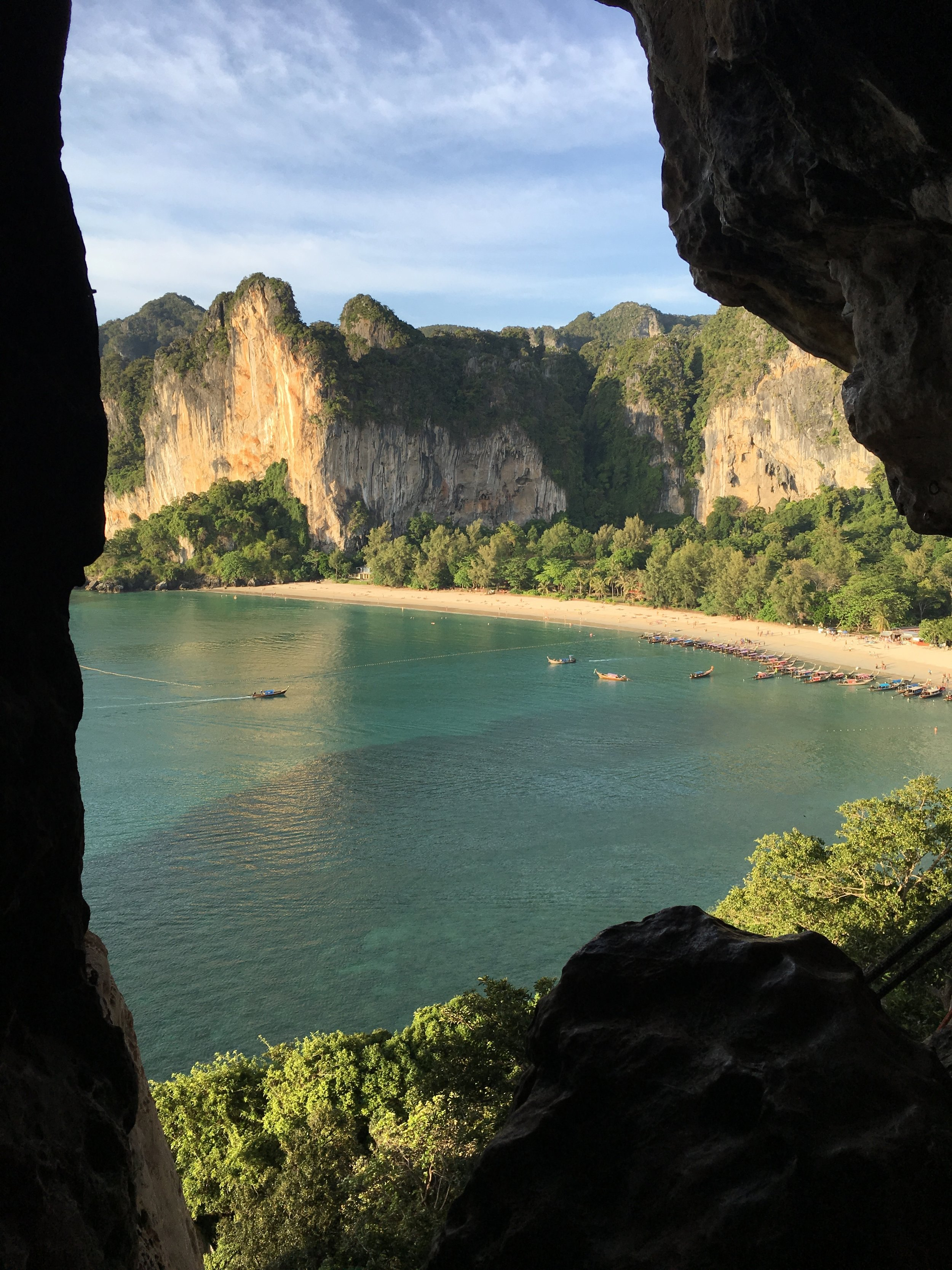 Railey Beach from Thaiwand Wall