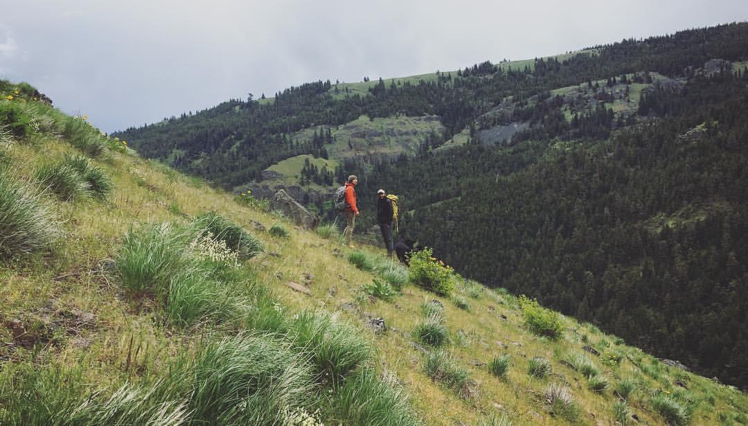 Climbing at Tieton River