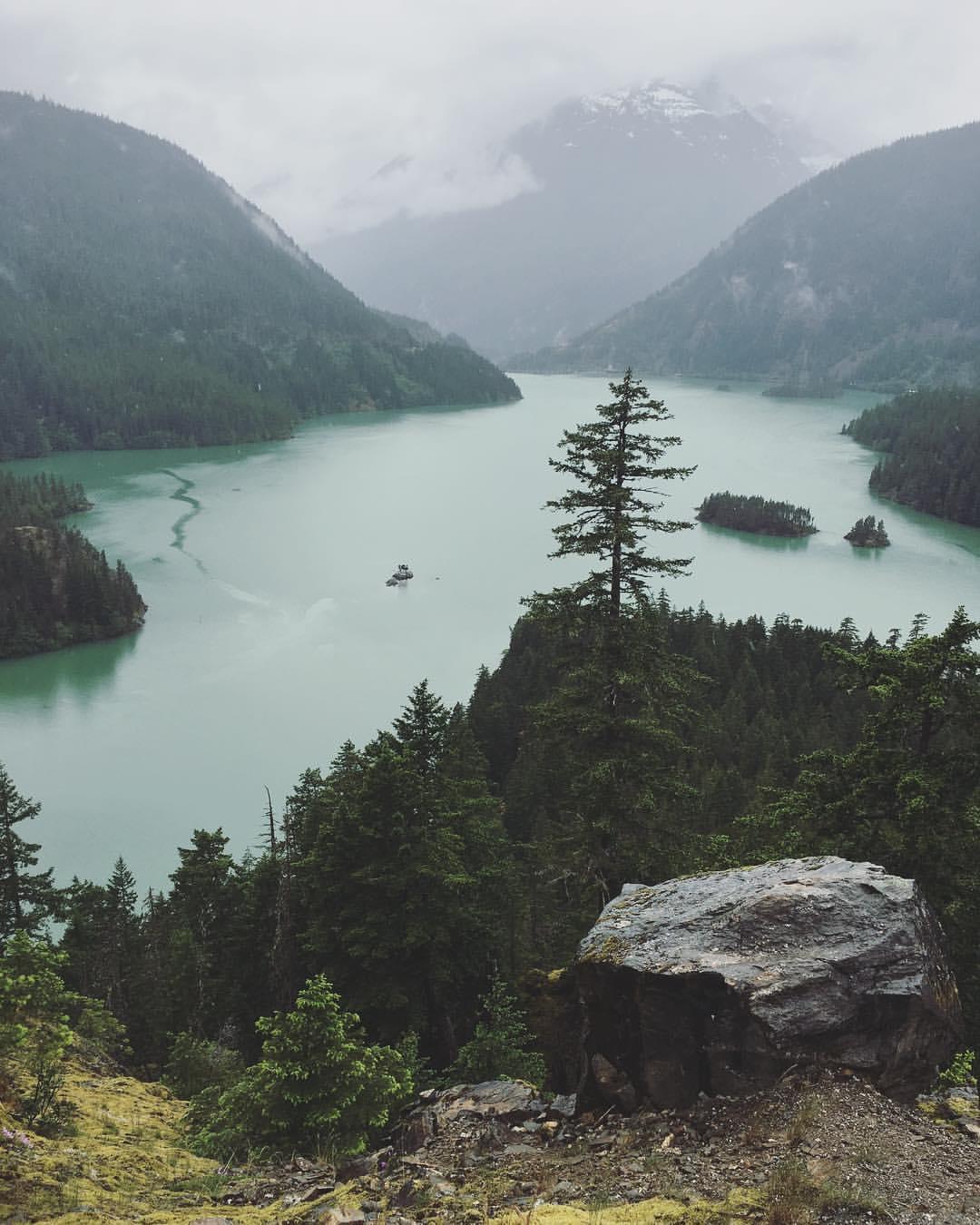 Diablo Lake at North Cascades