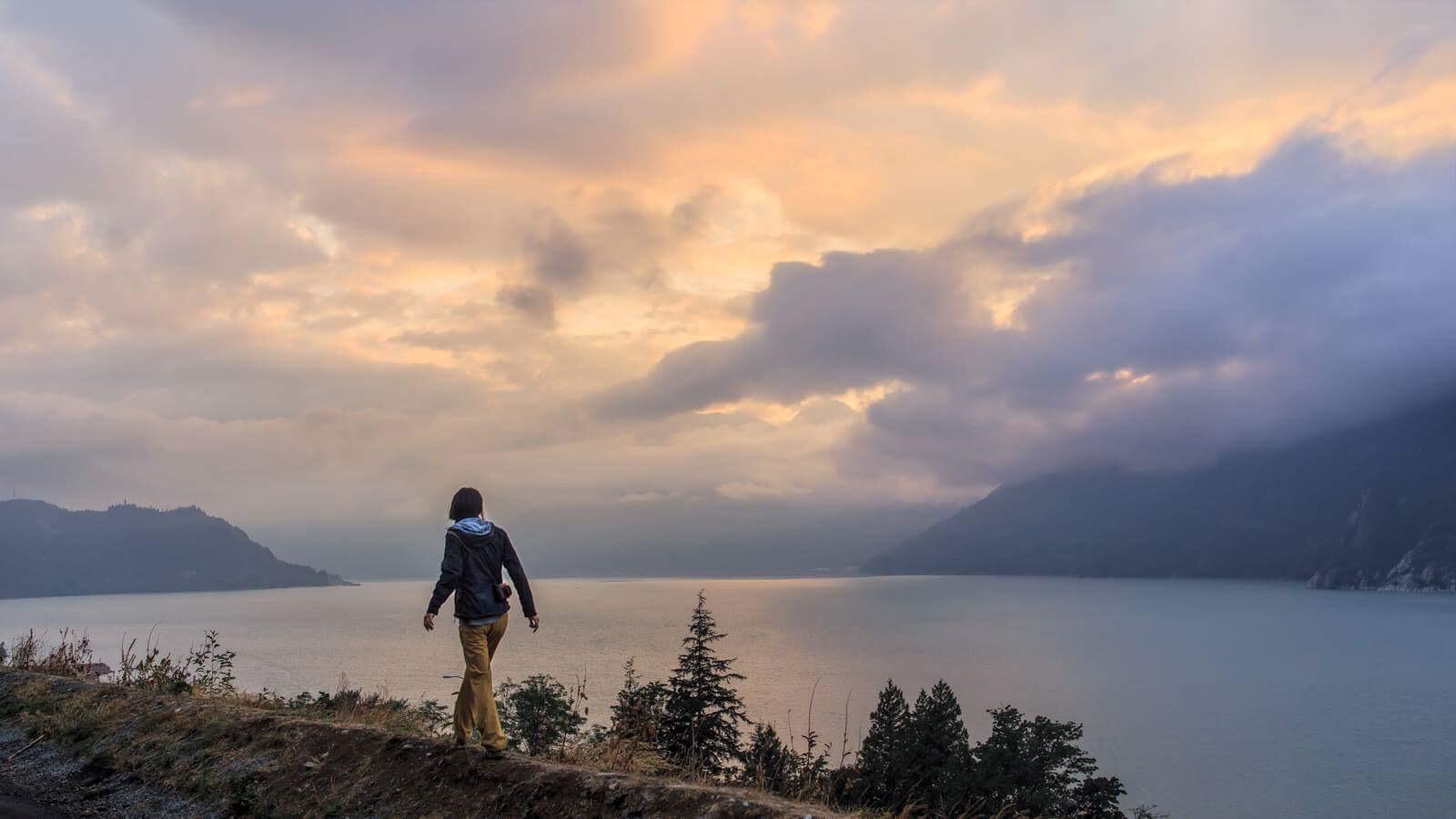 Squamish sunset in September