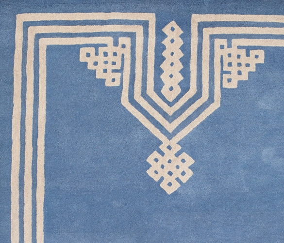 Tufted wool rug (Designed for Serena & Lily)