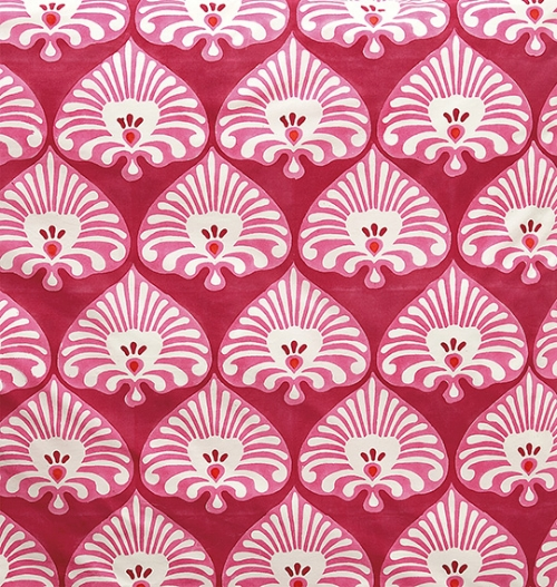 Blockprinted bedding (Designed for Serena & Lily)