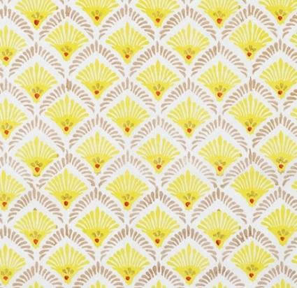 Blockprinted voile napkin (Designed for Serena & Lily)