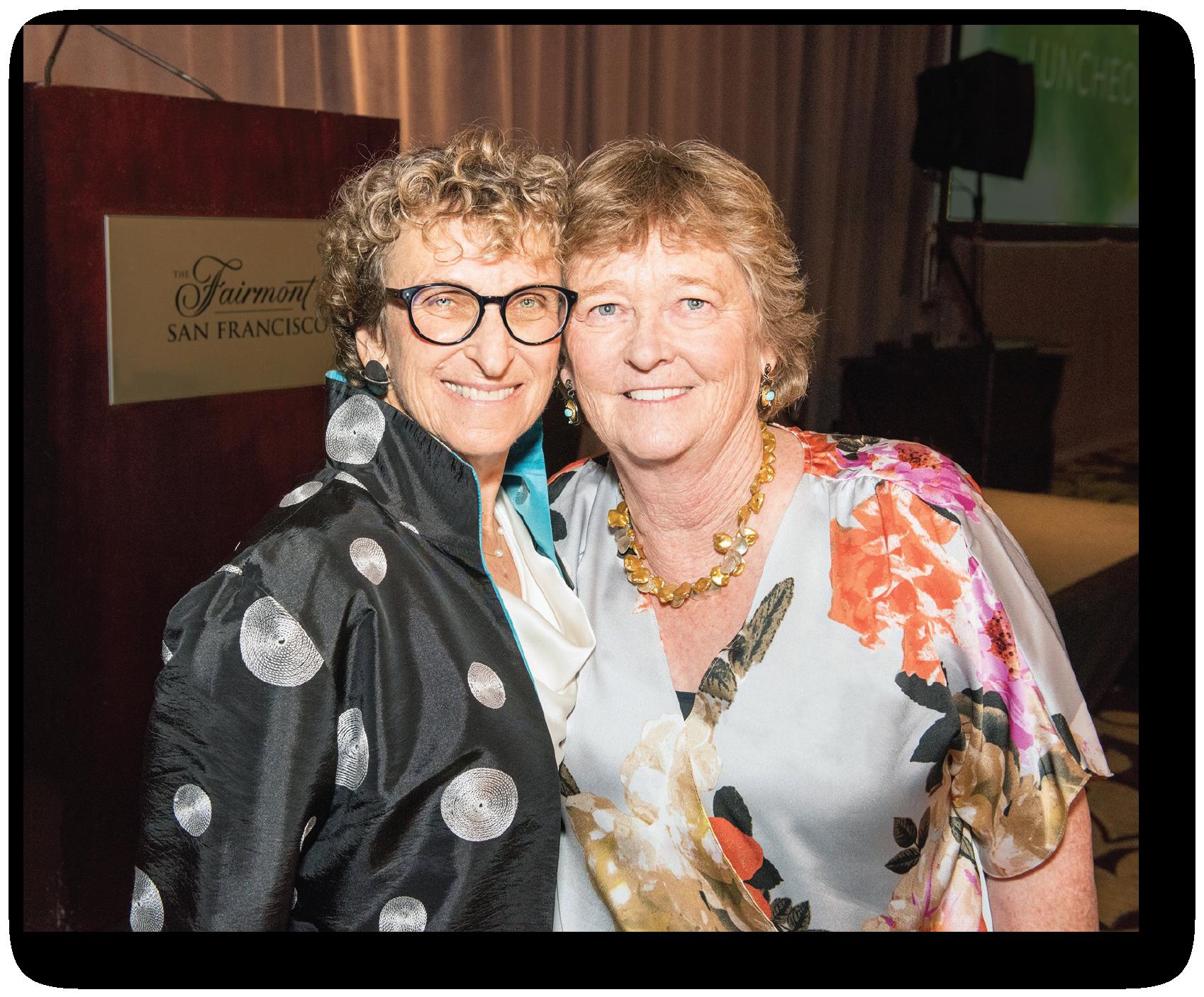 Martha Ryan and Board President, Cheri Pies