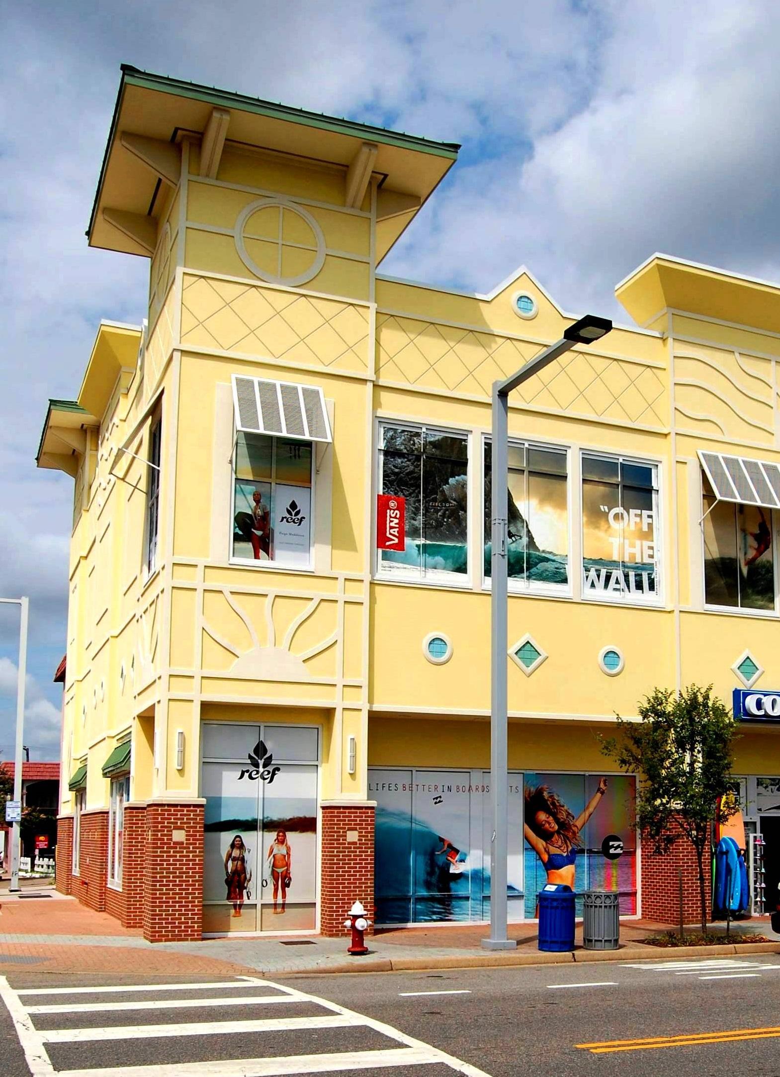 Ocean Sky Retail Center #commercial#shopping#retail#tourism#upscale#fun#social#VirginiaBeach