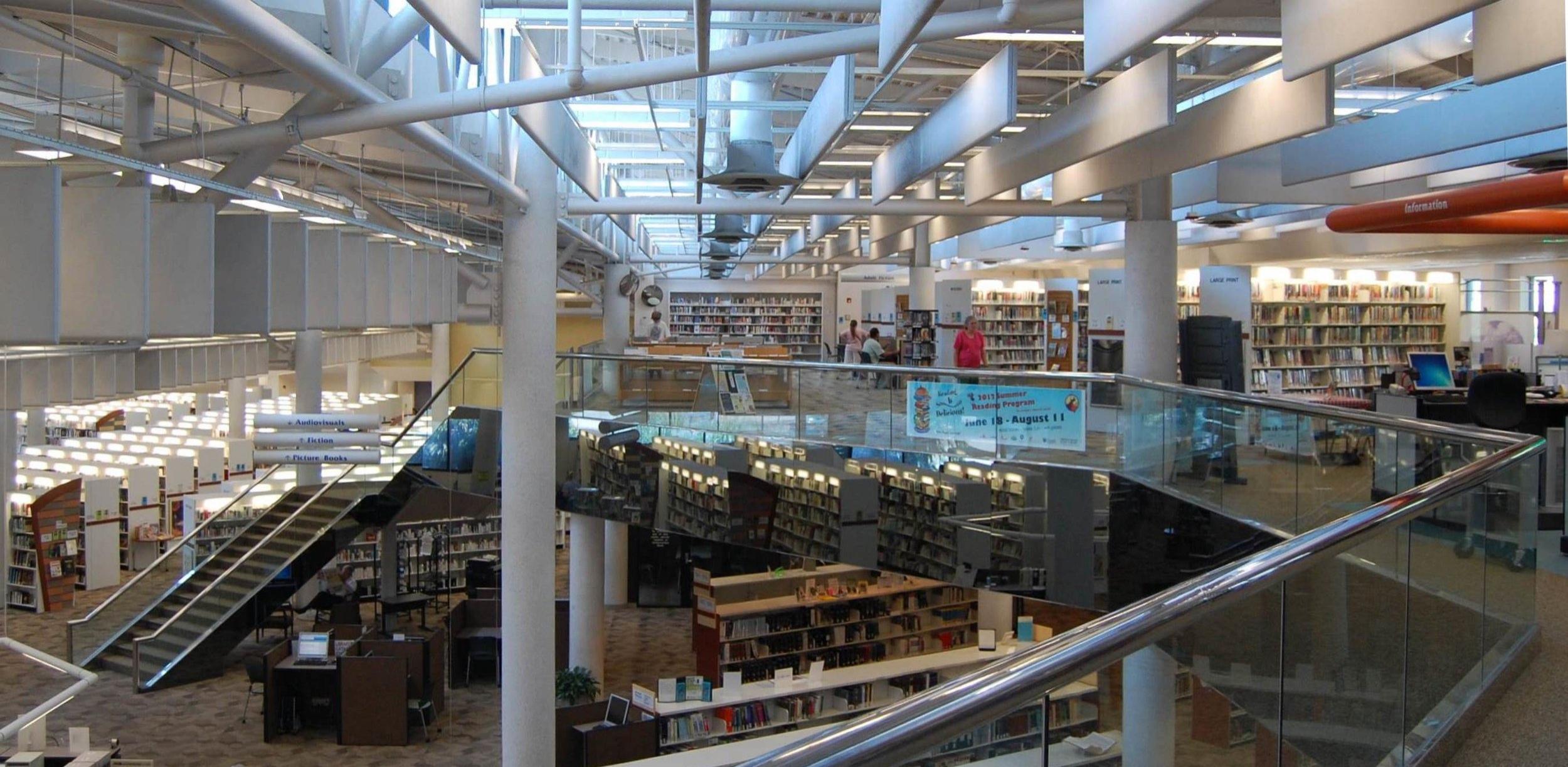 Meyera E. Oberndorf Central Library #library#norfolk#children#technology#information#books