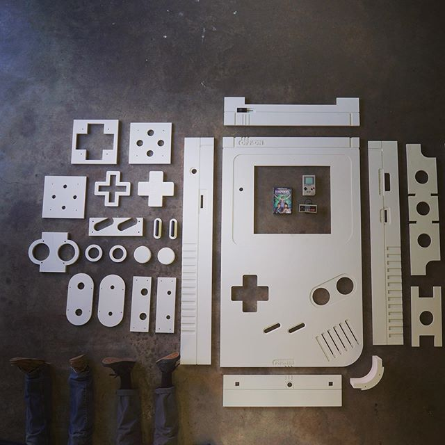 In a long career of building things, I think this will be the best thing we ever build. Coming soon to @abarigamebar #gameboy