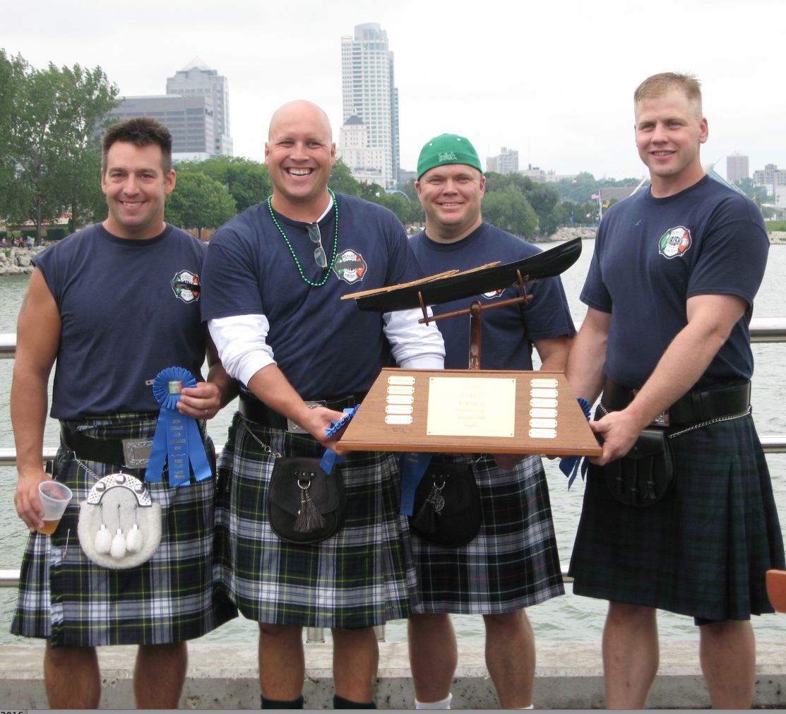 LAVIN CUP RACE: POLICE V. FIRE  AT MILWAUKEE IRISH FEST - AUGUST 20