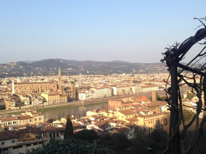 View from the San Miniato Al Monte