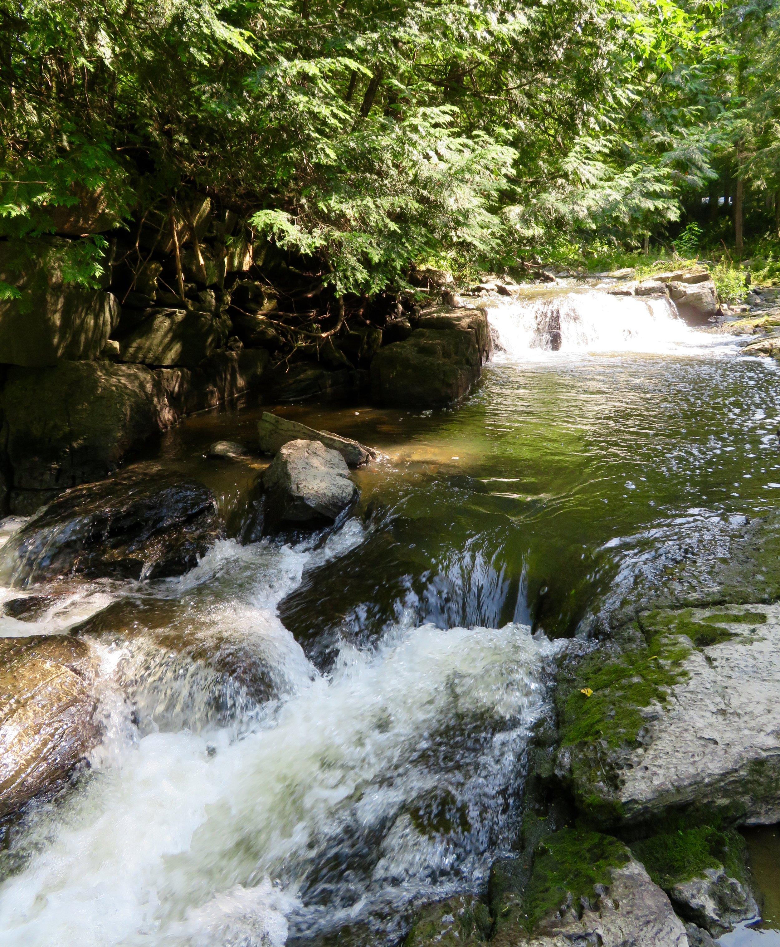 Mill River Falls; Georgia, VT