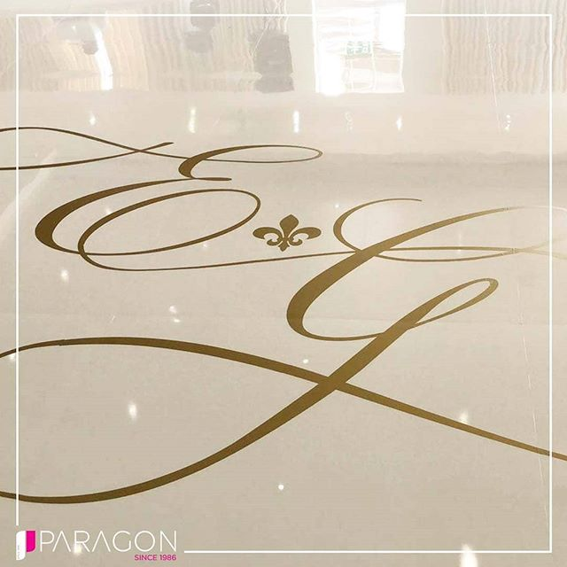 Have a Custom Vinyl Logo On Your Dance Floor! Have Your Initials Designed Elegantly To Add That Custom Feel To Your Event.  T - 02086069636 E - info@paragonroadshow.com www.paragonroadshow.com  Tried || Trusted || Inspired - - - - #dancefloors #vinyl #vinylprint #wedding #weddingreception #Indianweddings #asianweddings #love #whitedancefloor #gold #goals #Marry #Married #love ##partywithparagon #paragonroadshow #leddsncefloor #instadaily #picoftheday #receptionparty #dance #party