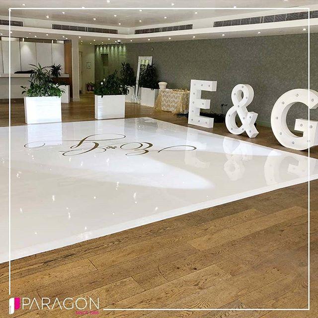 A Beautiful Sleek White Dance Floor with a Gold Custom Viynl Print! Customise Your Dance Floor With Paragon & Dance The Night Away In Style!  T. 02086069636 E. info@paragonroadshow.com www.paragonroadshow.com  Tried || Trusted || Inspired - - - - #dancefloor #firstdance #dancefloors #leddsncefloor #dance #weddingreception #asiana #asianweddings #Indianweddings #whitedancefloor #viynl #partywithparagon #love #music #indiandj #dj #party #instadaily #picoftheday #weddings #engagement #bridegroom