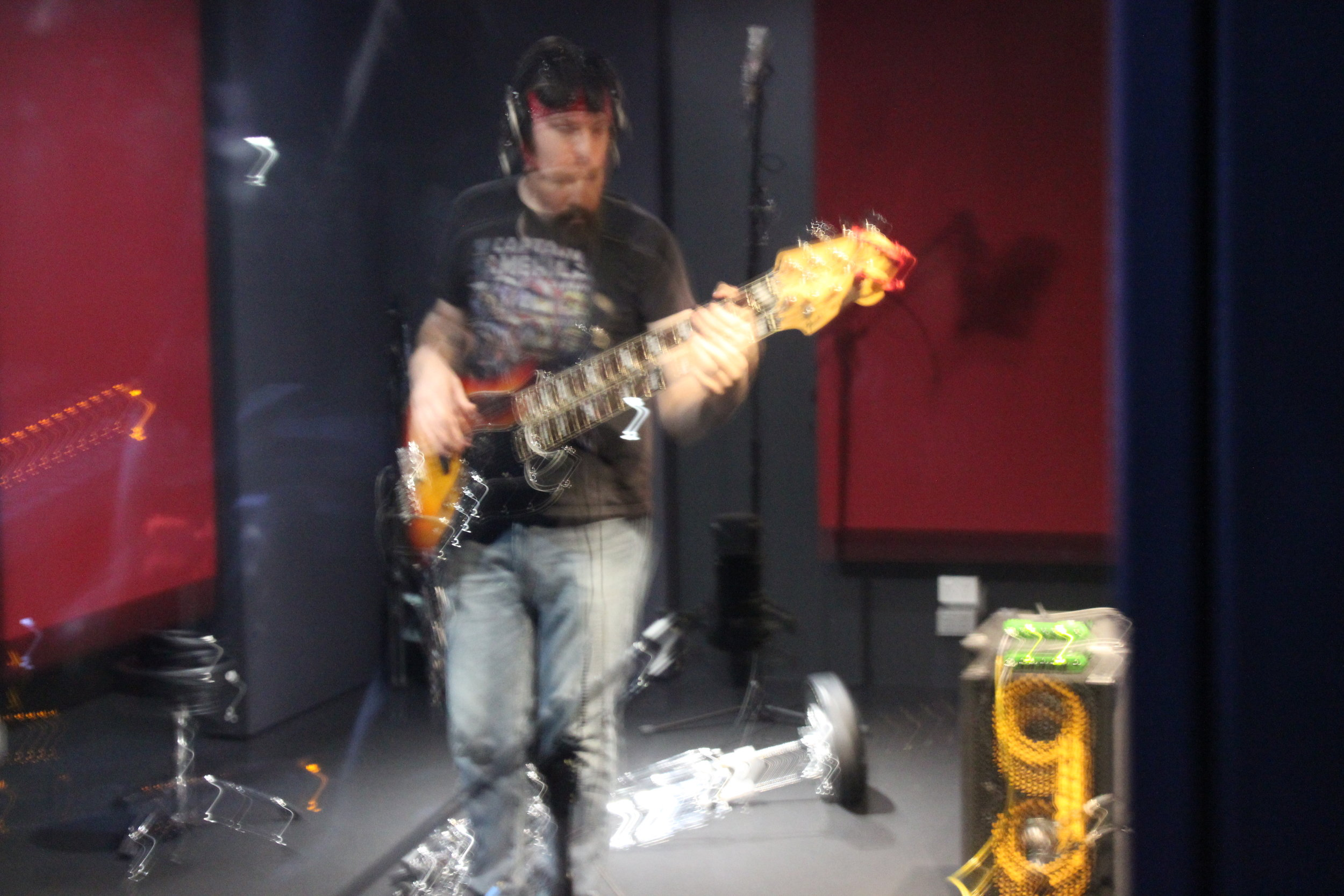 Sorry for the poor picture quality Pat but great job on the bass