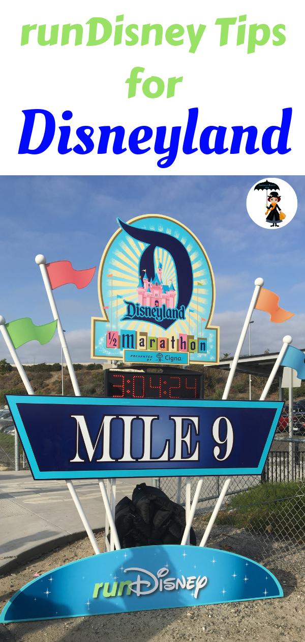 runDisney tips for Disneyland. #Disneyland #runDisney