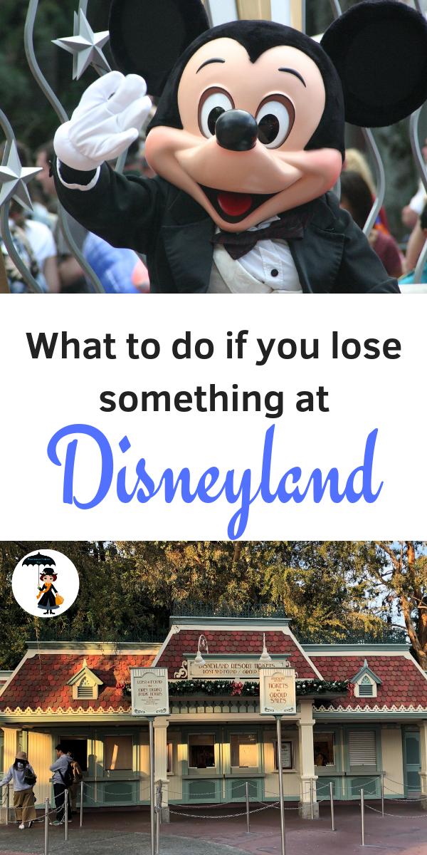 What to do if you lose something at Disneyland. #Disneyland #DCA #Disneytips