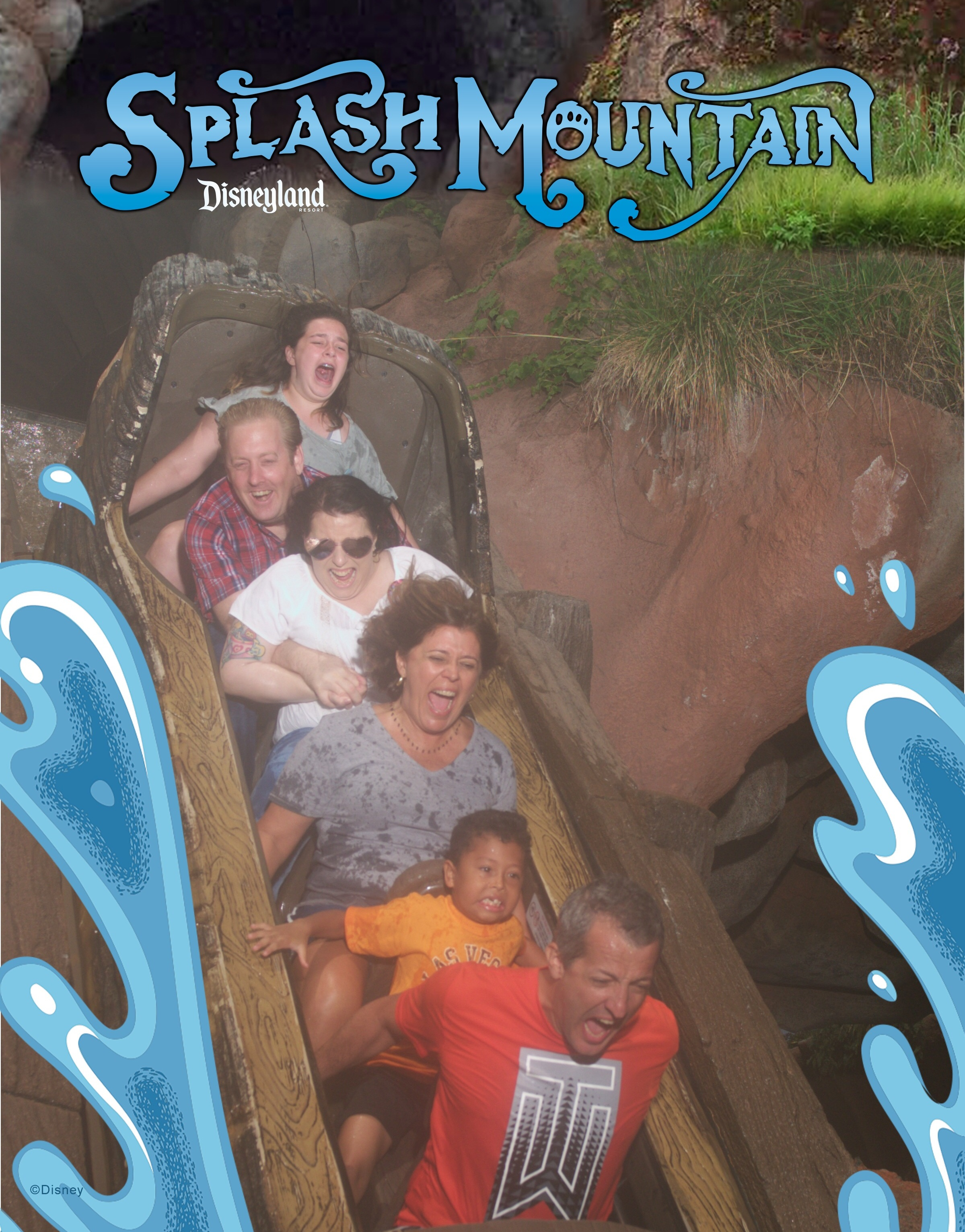 My husband was very clearly having fun. While everyone else was not. Lol.