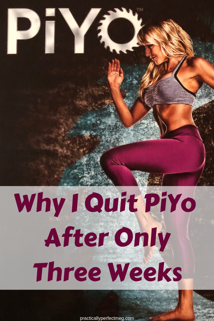 Why I Quit PiYo. #Fitness #PiYo #BeachBody #WeightLoss #PlusSizeExercise