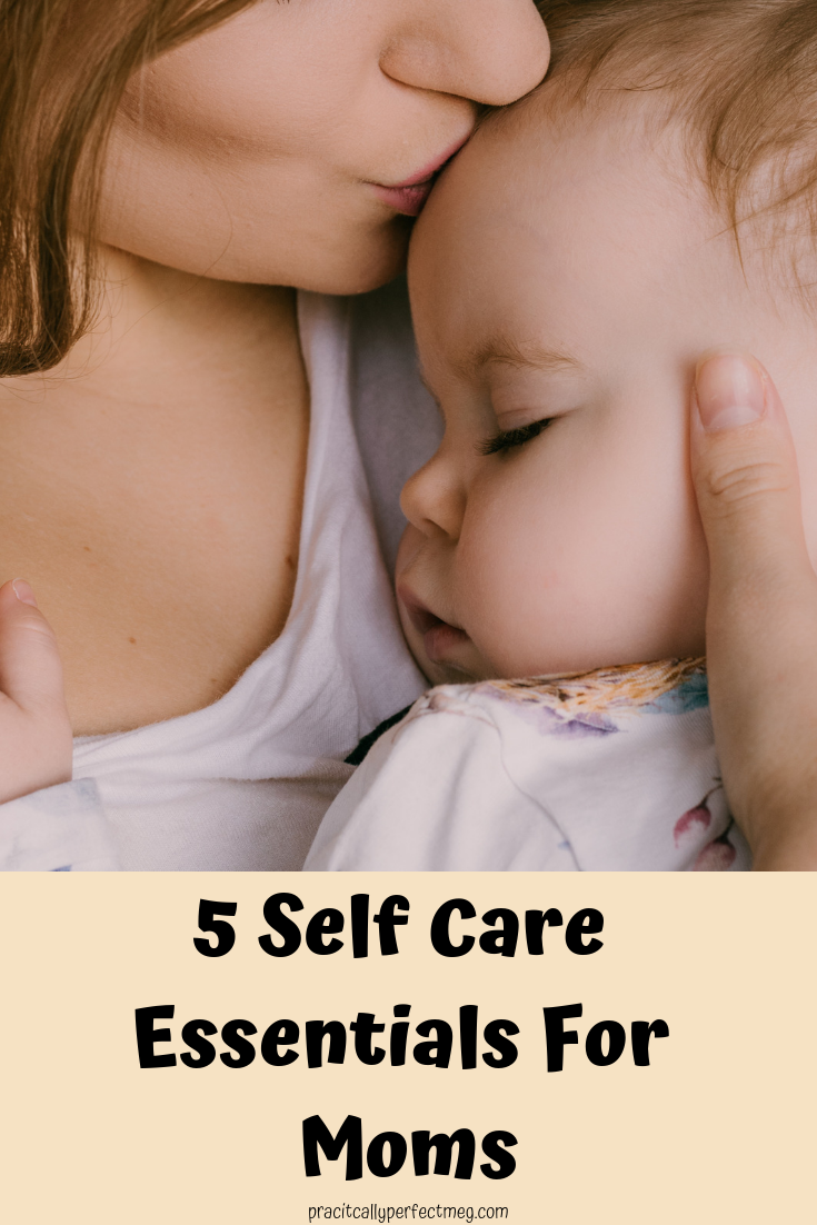 Five Self Care must haves for moms. #selfcare #momlife #motherhood #skincare #haircare #beauty