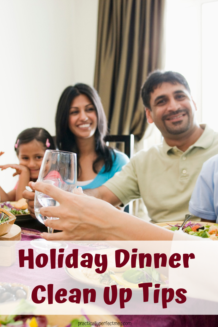 Holiday Dinner Clean Up Tips. #cooking #cookingtips #cleaning #Easter #Christmas #Thanksgiving #dinneryparty #cleaning #cleaniningtips