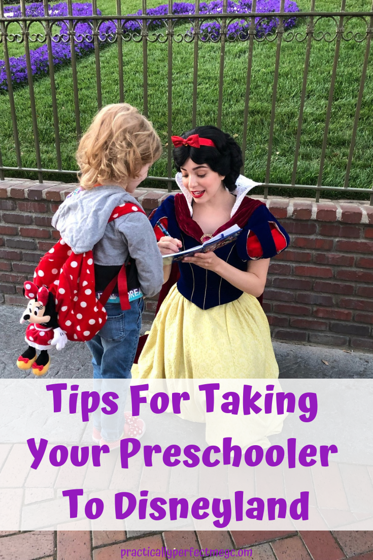 Tips For Taking Preschoolers To Disneyland. #Disneyland #DisneyCaliforniaAdventure #Disney #DisneyWithKids #Travel