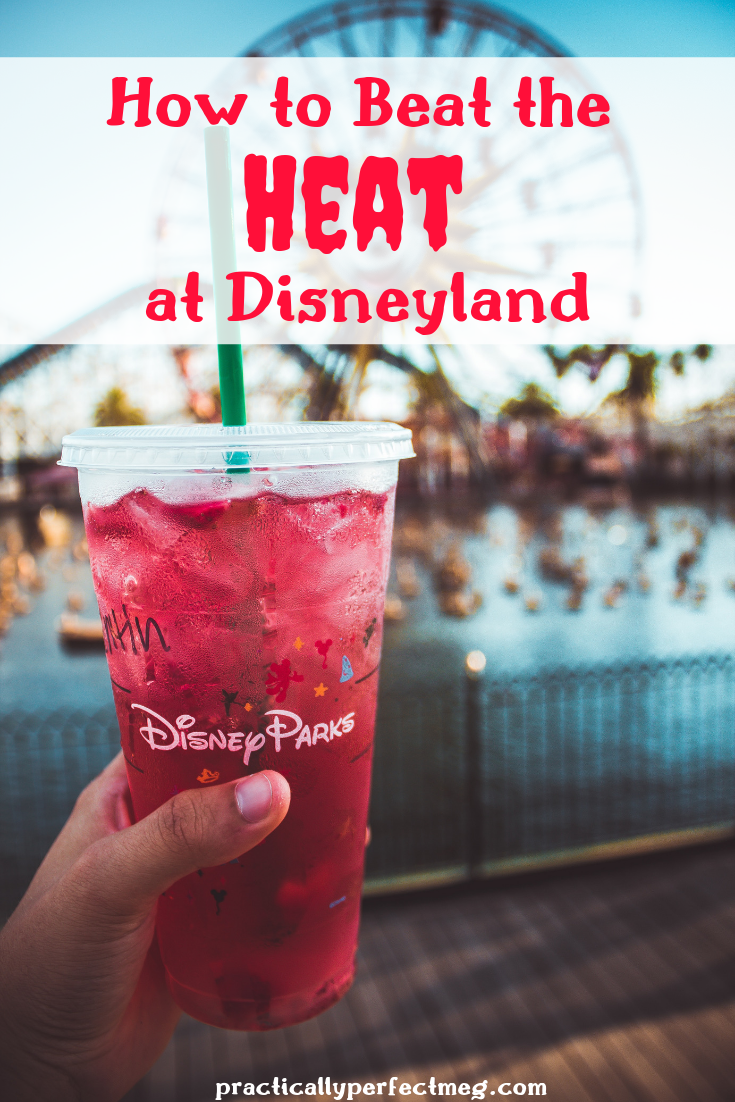 Where to beat the heat at Disneyland and Disney California Adventure. #Disneyland #Disney #Travel  #DisneyCaliforniaAdventure #DisneylandTips