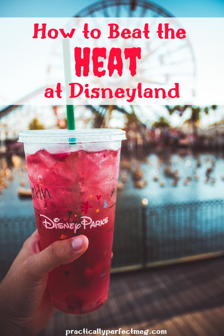 Where to beat the heat at Disneyland and Disney California Adventure. #Disneyland #Disney #Travel  #DisneyCaliforniaAdventure #DisneylandTips