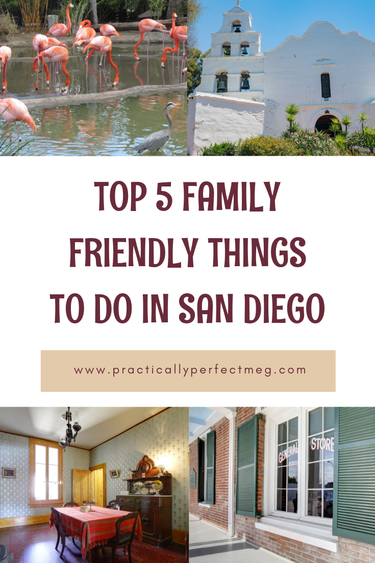Top 5 Family Friendly Things To Do In San Diego. #SanDiegoZoo #SanDiego #travel #SouthernCalifornia #SanDiegoAttractions #SanDiegoActivites #FamilyFriendly