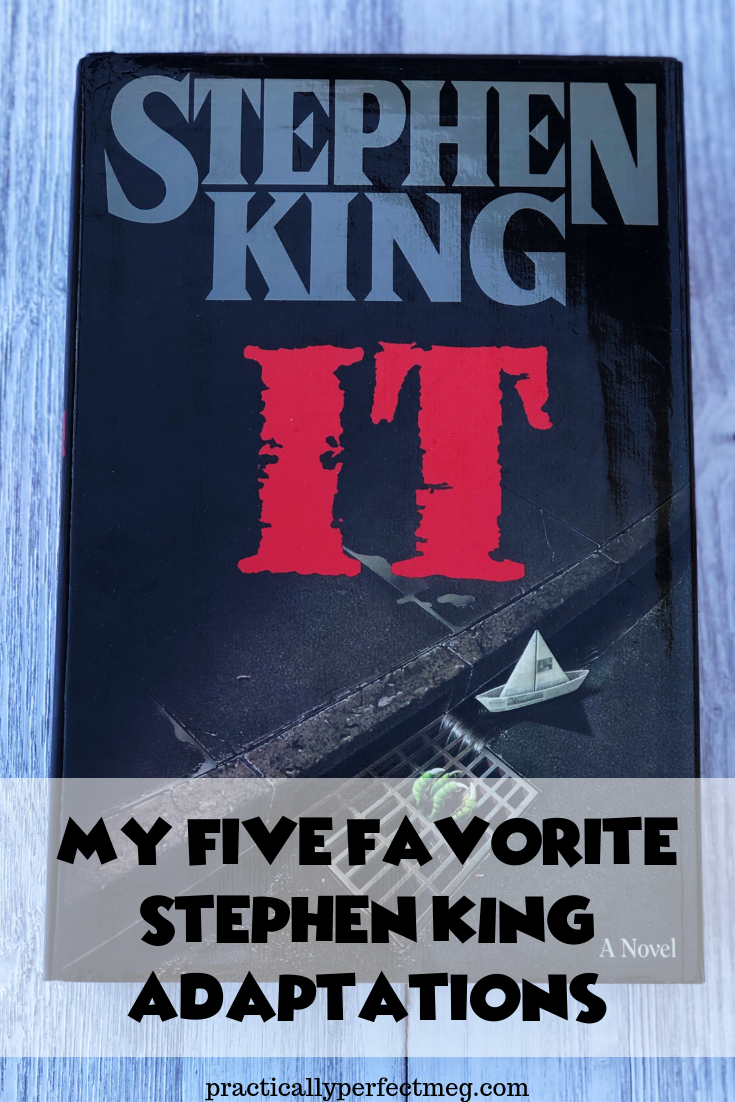My five favorite Stephen King Adaptations. #StephenKing #Hooror #HorrorMovies #Halloween