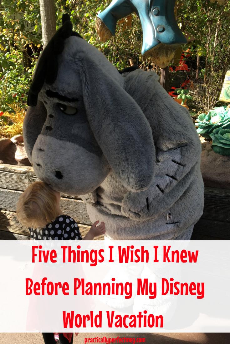 5 Things I Wish I Knew About Before Planning My Walt Disney World Trip. #WDW #DisneyWorld #WaltDisneyWorld #ToyStoryLand #MinnieVans #FlightOfPassage #DisneyWorldTips #FamilyTravel