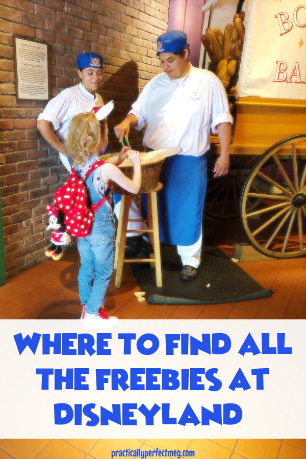 Where To Find Free Stuff At Disneyland And Disney California Adventure. #Disneyland #CaliforniaAdventure #Disney #FamilyTravel
