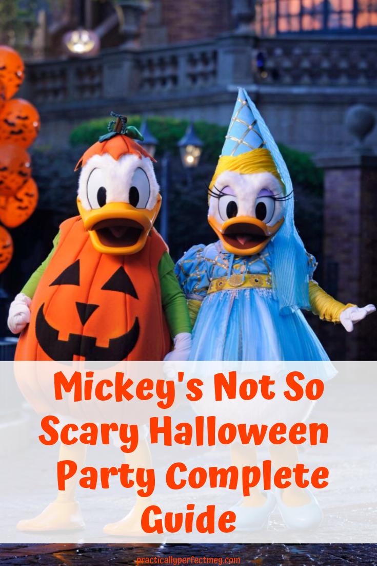Mickey's Not So Scary Halloween Party Guide. #WDW  #MNSSHP #mickeysnotsoscary #disneyworld