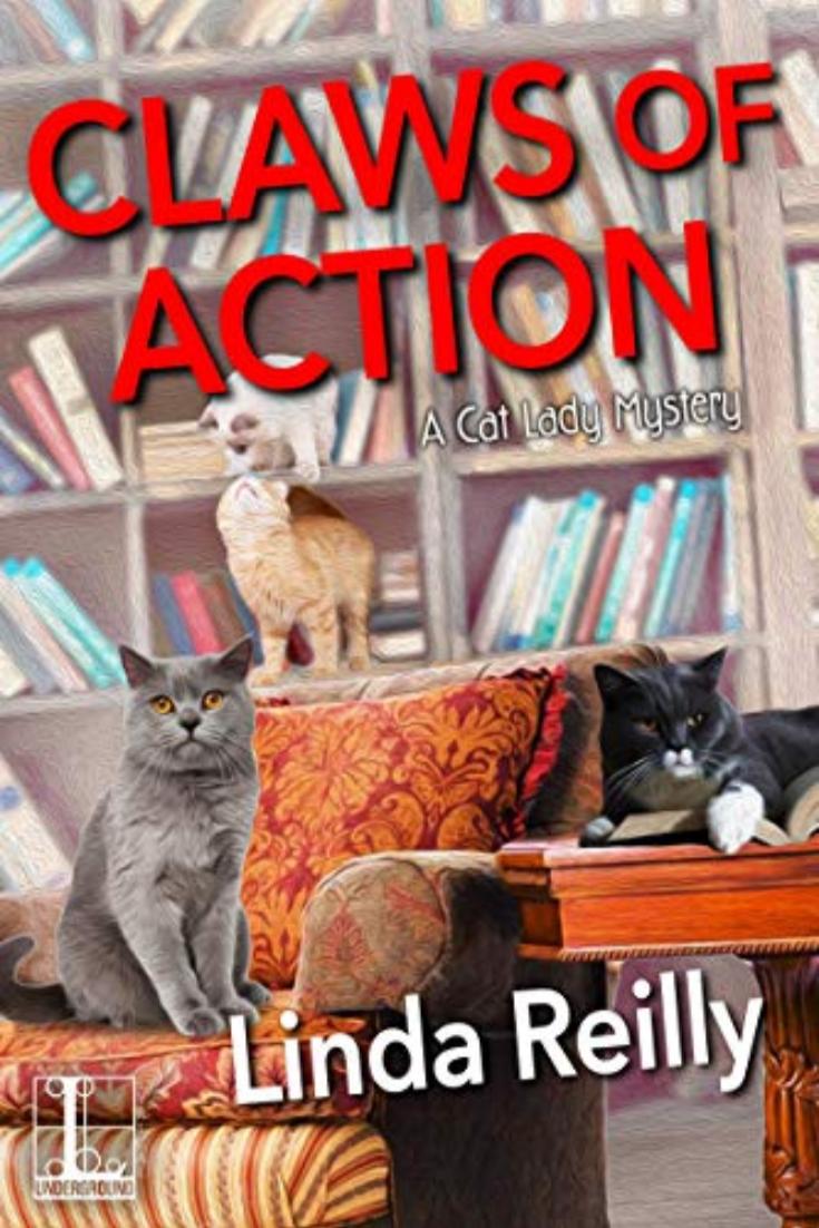 Claws of Action by Linda Reilly Review. #cozy #mystery #booksbooksbooks #bookish #bibliophile #bookgeek #bookaddict #booknerd #booklover #bookworm #bookaholic #booknerdigans #bookblog #bookbloggers #readabook #tbr #readbooks  #books