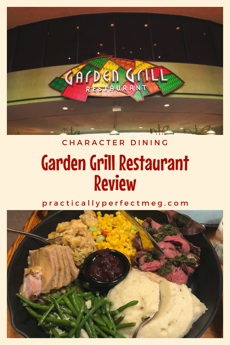 Garden Grill Character Dining Lunch and Dinner Review #gardengrill #epcot #wdw #waltdisneyworld #disneycharacterdining #disney #travel #familytravel