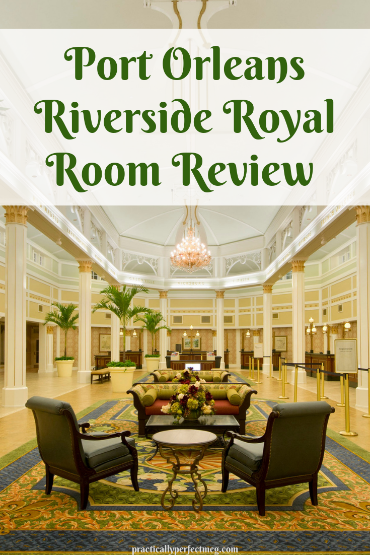 Port Orleans Riverside Royal Room Review. #WDW #travel #portorleansriverside #disenyworld #moderatehotels #waltdisnetworld #disneyworldhotels