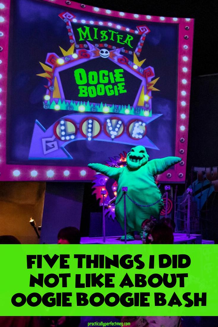 Five things I did not like at Oogie Boogie Bash. #oogieboogiebash #dca #disneyland #disneycaliforniaadventure #halloween #disney #disneywithkids