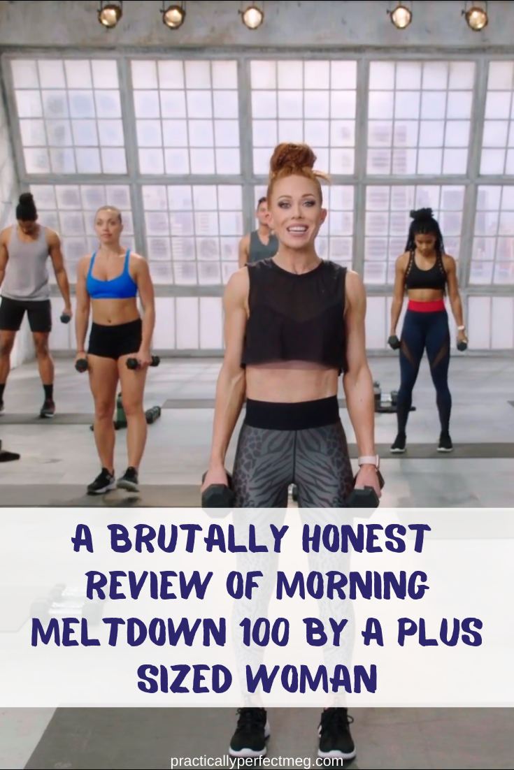Morning Meltdown 100 by Jericho McMatthews and Beachbody review. #fitness #weightloss #plussize #morningmeltdown100  #fullbodyworkout #athomeworkout #forbeginners #strengthtraining #fatburning #hiit #formen #forwomen